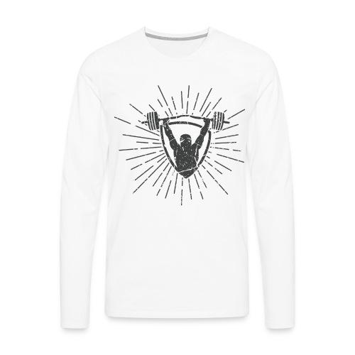Gewichtheben - No Pain No Gain T-Shirts - Männer Premium Langarmshirt