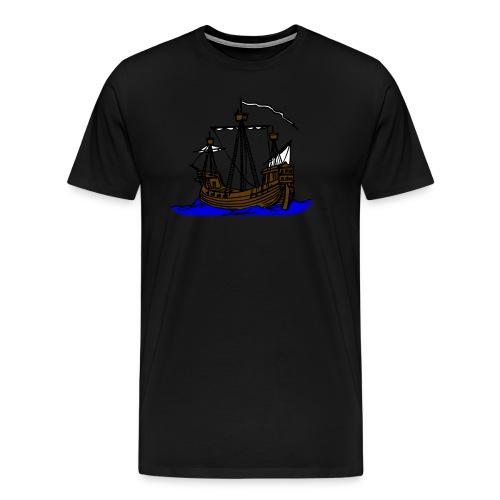 Schiff - Männer Premium T-Shirt