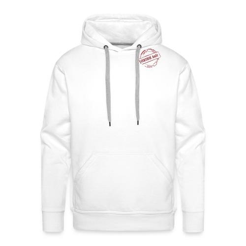 T-Shirt Certifié AoZé - Sweat-shirt à capuche Premium pour hommes