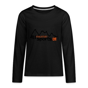 Baby-Body ALLmountainSPORTS.de - Teenager Premium Langarmshirt