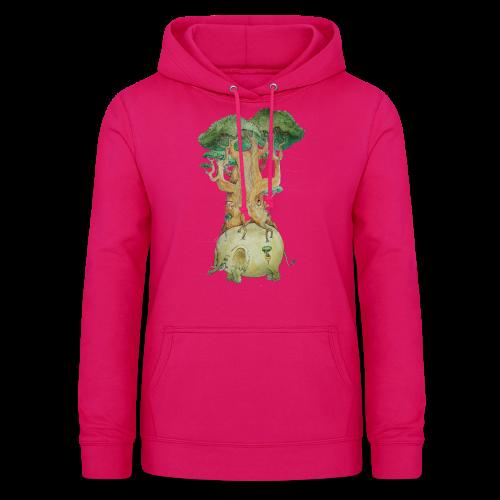 Baobab su elefante - Women's Hoodie