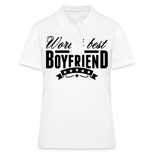 Herren Langarmshirt Worlds Best Boyfriend - Frauen Polo Shirt