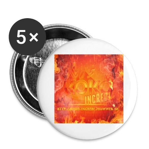 Koko Incredi mok 2 - Buttons klein 25 mm (5-pack)