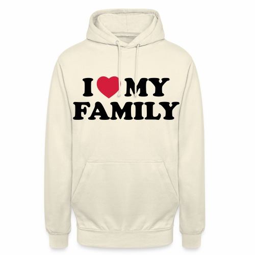 Shopper I Love my Family - Unisex Hoodie