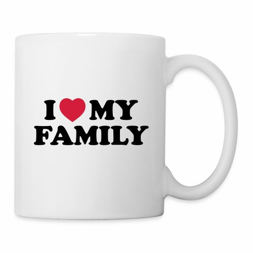 Shopper I Love my Family - Tasse