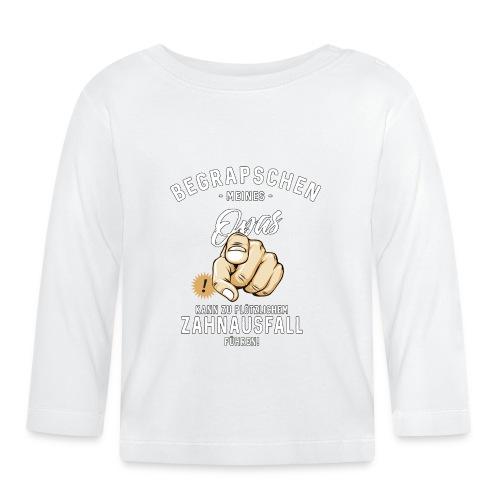 Begrapschen meines Opas - Zahnausfall - RAHMENLOS - Baby Langarmshirt