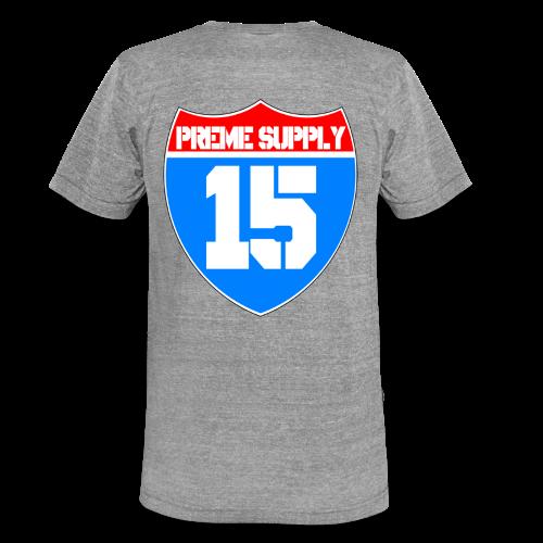 Preme Supply Shield 15 Hoodie - Unisex Tri-Blend T-Shirt by Bella & Canvas