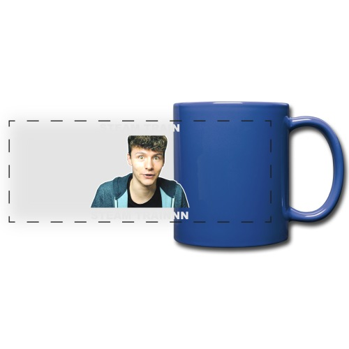 Mug: Stream Train - Full Color Panoramic Mug