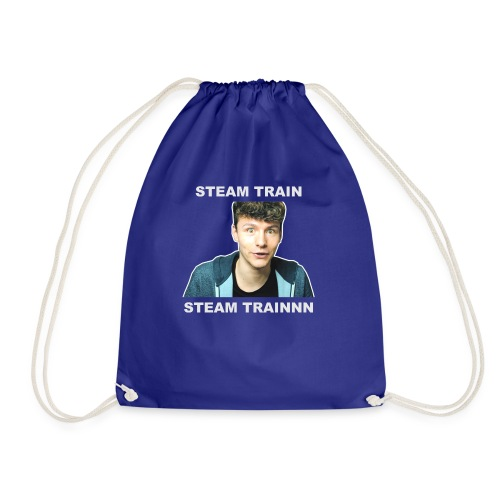 Mug: Stream Train - Drawstring Bag