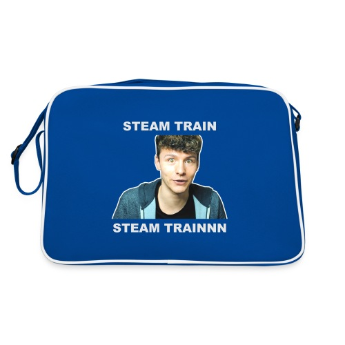 Mug: Stream Train - Retro Bag
