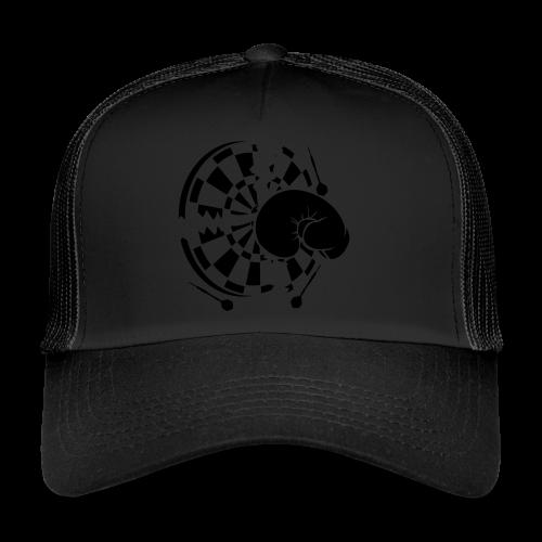 Dartscheibe Boxen Shirt - Trucker Cap