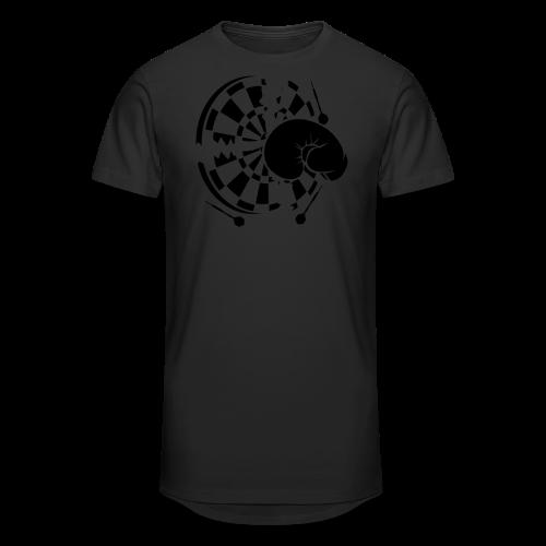 Dartscheibe Boxen Shirt - Männer Urban Longshirt