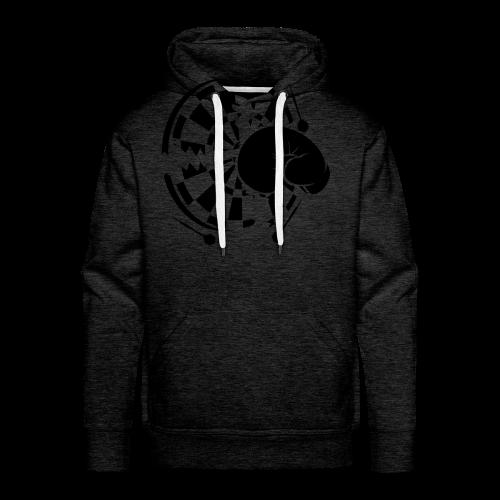 Dartscheibe Boxen Shirt - Männer Premium Hoodie