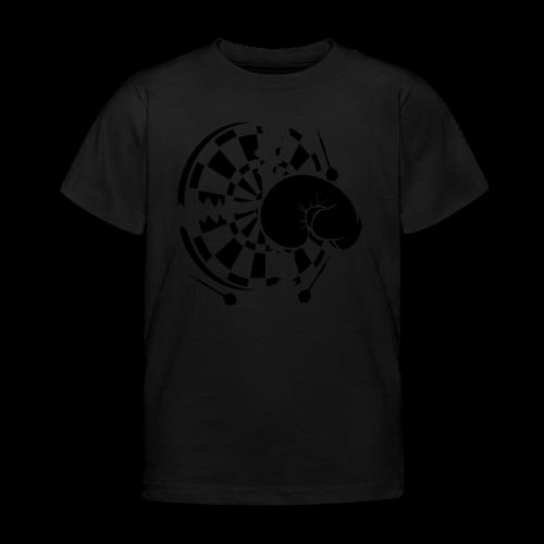 Dartscheibe Boxen Shirt - Kinder T-Shirt