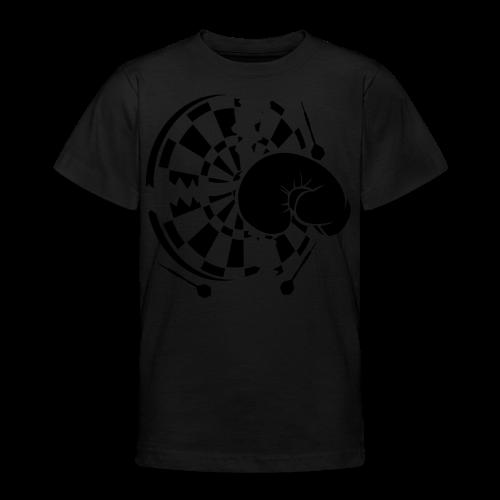 Dartscheibe Boxen Shirt - Teenager T-Shirt