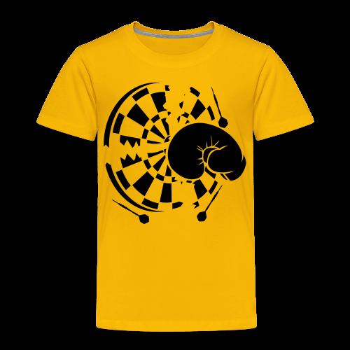 Dartscheibe Boxen Shirt - Kinder Premium T-Shirt