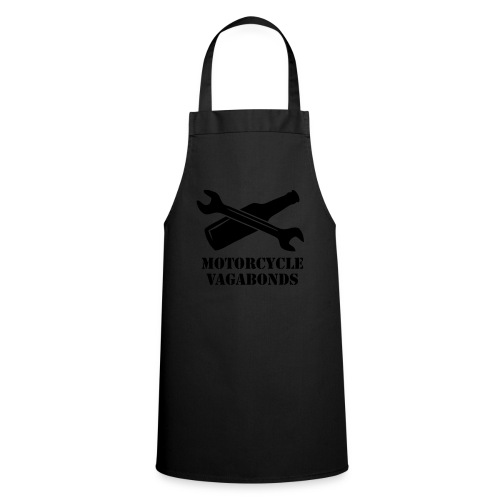 sweatshirt - motorcycle vagabonds - grey print - Cooking Apron