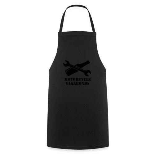t-shirt - female  - motorcycle vagabonds - grey print - Cooking Apron