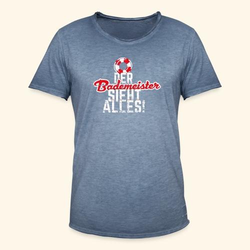 Bademeister T-Shirt - Männer Vintage T-Shirt