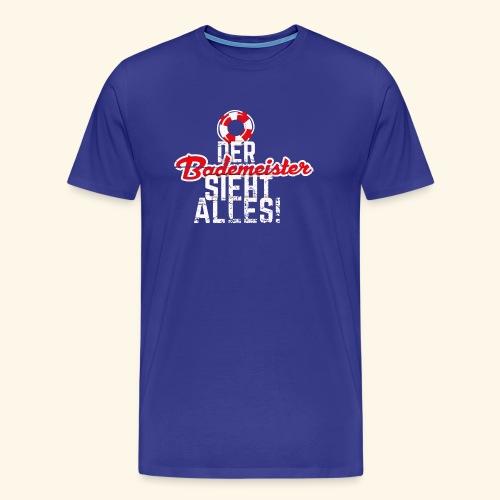 Bademeister T-Shirt - Männer Premium T-Shirt