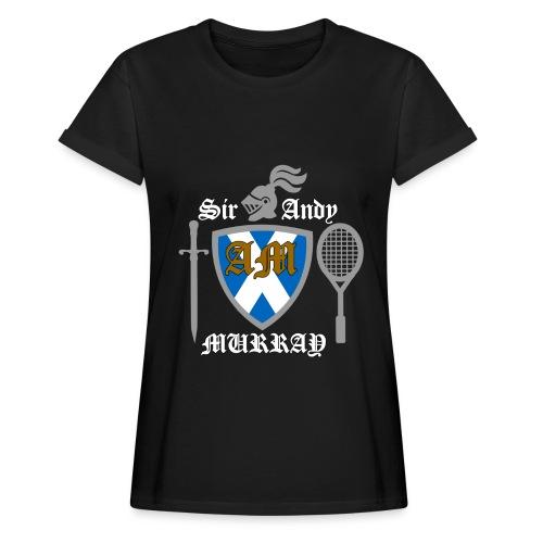 Sir Andy. Ladies T Shirt. Colour choice. - Women's Oversize T-Shirt