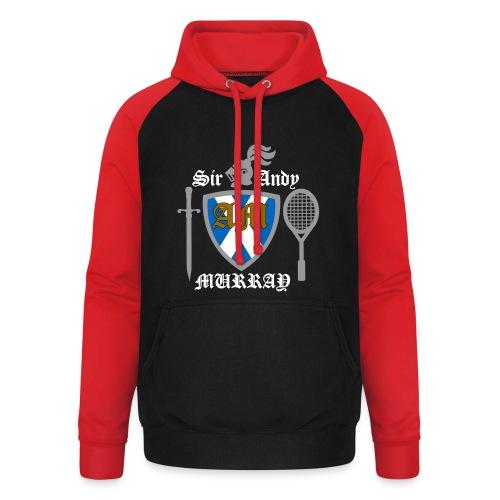 Sir Andy. Ladies T Shirt. Colour choice. - Unisex Baseball Hoodie