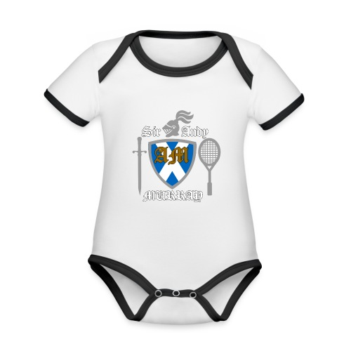 Sir Andy. Ladies T Shirt. Colour choice. - Organic Baby Contrasting Bodysuit