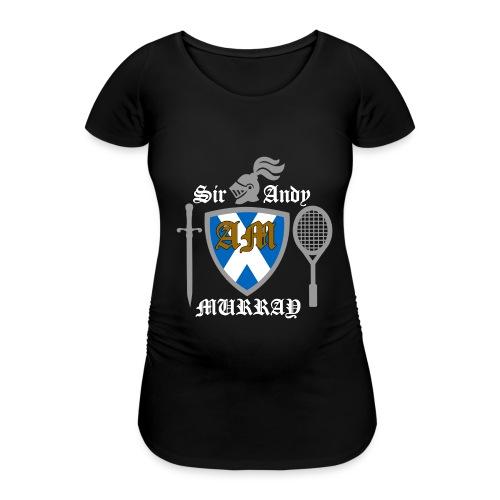 Sir Andy. Ladies T Shirt. Colour choice. - Women's Pregnancy T-Shirt