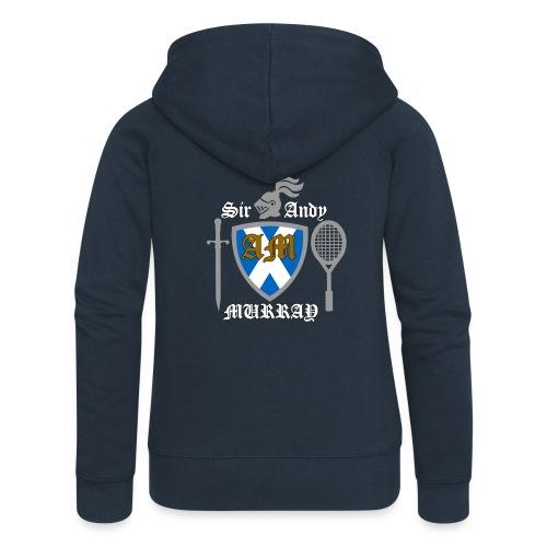 Sir Andy. Ladies T Shirt. Colour choice. - Women's Premium Hooded Jacket