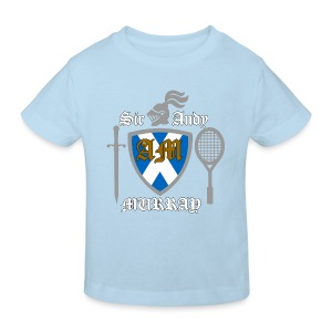 Sir Andy. Ladies T Shirt. Colour choice. - Kids' Organic T-shirt