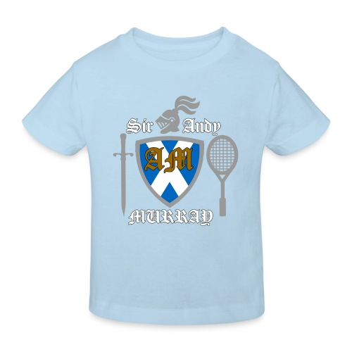 Sir Andy. Ladies T Shirt. Colour choice. - Kids' Organic T-shirt
