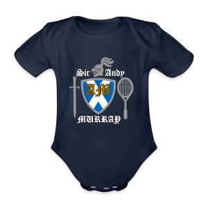 Sir Andy. Ladies T Shirt. Colour choice. - Organic Short-sleeved Baby Bodysuit