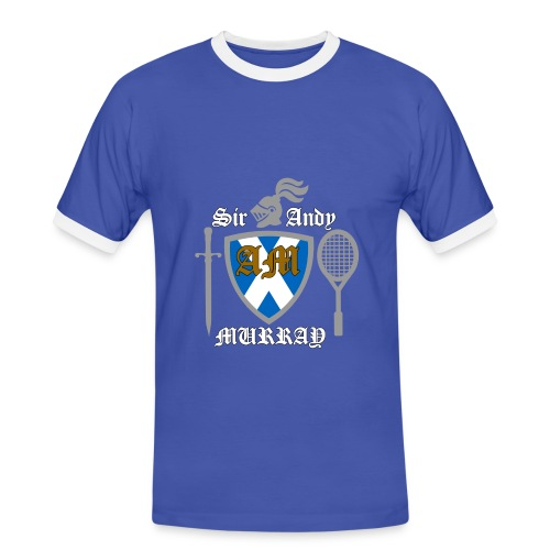 Sir Andy. Ladies T Shirt. Colour choice. - Men's Ringer Shirt
