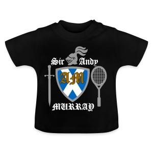 Sir Andy. Ladies T Shirt. Colour choice. - Baby T-Shirt