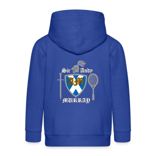 Sir Andy. Ladies T Shirt. Colour choice. - Kids' Premium Zip Hoodie