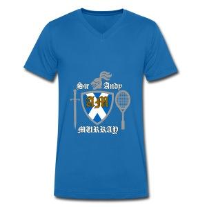Sir Andy. Ladies T Shirt. Colour choice. - Men's Organic V-Neck T-Shirt by Stanley & Stella