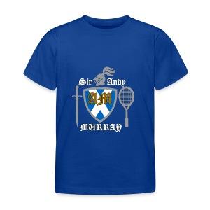 Sir Andy. Ladies T Shirt. Colour choice. - Kids' T-Shirt