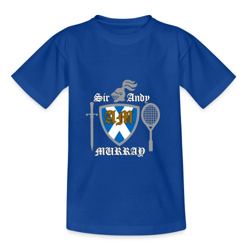 Sir Andy. Ladies T Shirt. Colour choice. - Kids' T-Shirt