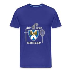 Sir Andy. Ladies T Shirt. Colour choice. - Men's Premium T-Shirt