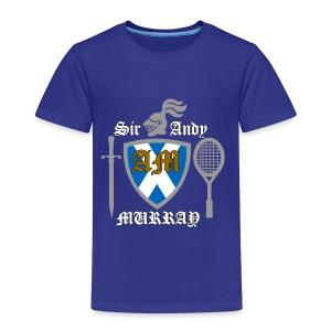 Sir Andy. Ladies T Shirt. Colour choice. - Kids' Premium T-Shirt