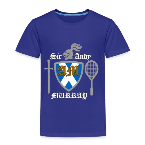 Sir Andy. Ladies T Shirt. Colour choice. - Kids' Premium T-Shirt
