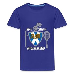 Sir Andy. Ladies T Shirt. Colour choice. - Teenage Premium T-Shirt