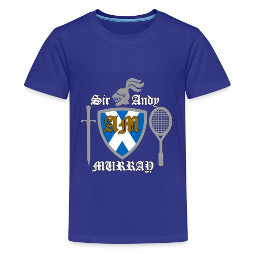Sir Andy. Ladies T Shirt. Colour choice. - Teenage Premium T-Shirt