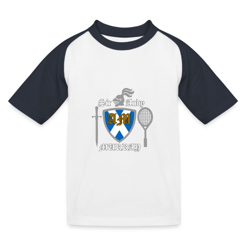 Sir Andy. Ladies T Shirt. Colour choice. - Kids' Baseball T-Shirt