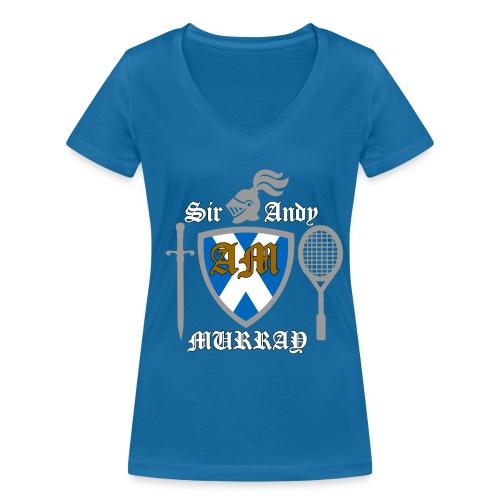 Sir Andy. Ladies T Shirt. Colour choice. - Women's Organic V-Neck T-Shirt by Stanley & Stella