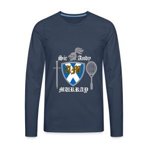 Sir Andy. Ladies T Shirt. Colour choice. - Men's Premium Longsleeve Shirt