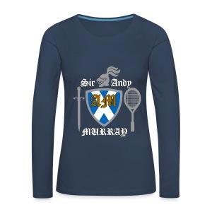 Sir Andy. Ladies T Shirt. Colour choice. - Women's Premium Longsleeve Shirt