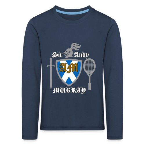 Sir Andy. Ladies T Shirt. Colour choice. - Kids' Premium Longsleeve Shirt