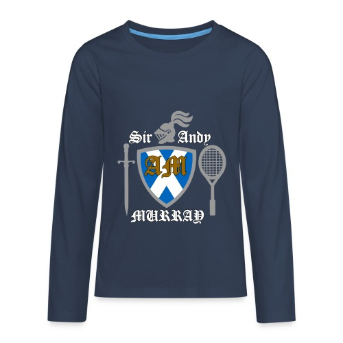 Sir Andy. Ladies T Shirt. Colour choice. - Teenagers' Premium Longsleeve Shirt