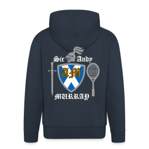 Sir Andy. Ladies T Shirt. Colour choice. - Men's Premium Hooded Jacket